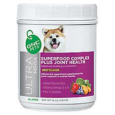 GNC Ultra Mega Superfood Complex Plus Joint Health Dog Formula