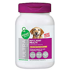 GNC Ultra Mega Superfood Complex Plus Joint Health Senior Dog Chewable Tablet