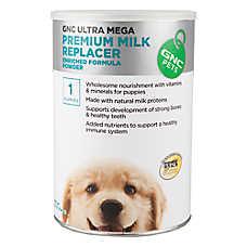 GNC Ultra Mega Premium Milk Replacer Puppy Formula