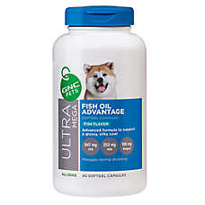GNC Ultra Mega Fish Oil Advantage Dog Softgel Capsule