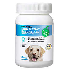 GNC Mega Skin & Coat Essentials Adult Dog Softgel Capsule