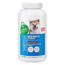 GNC Mega Brewers Yeast Dog Chewable Tablet
