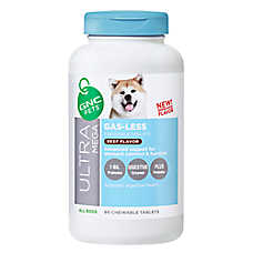 GNC Ultra Mega Gas-Less Dog Chewable Tablet