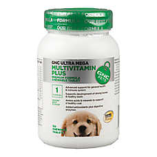 GNC Ultra Mega Multivitamin Plus Puppy Chewable Tablet