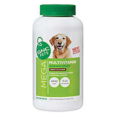 GNC Mega Multivitamin Senior Dog Chewable Tablet