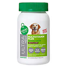 GNC Ultra Mega Multivitamin Plus Senior Dog Chewable Tablet