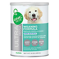 GNC Ultra Mega Weaning Powder Puppy Formula