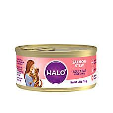 HALO® Adult Cat Food - Natural, Grain Free, Salmon Recipe