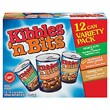 Kibbles 'n Bits Variety Pack Dog Food