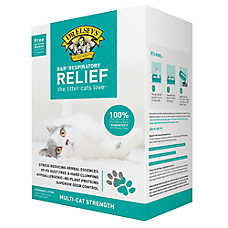 Precious Cat Respiratory Relief Clumping Clay Cat Litter