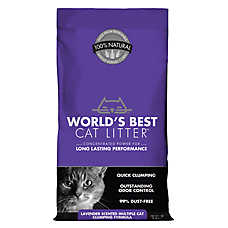 World's Best Cat Litter™ - Natural, Clumping, Multiple Cat, Lavender