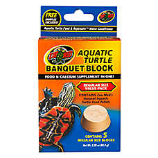 Zoo Med™ Aquatic Turtle Banquet Block Regular Size Value Pack