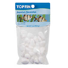 Top Fin® White Pebbles