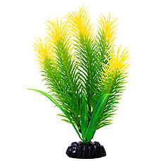 Top Fin® Artificial Green & Yellow Hair Aquarium Plant