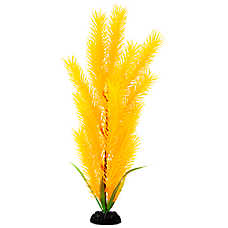 Top Fin® Artificial Yellow Hair Aquarium Plant