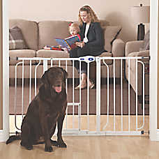 top paw extra wide pet gate - Doggie Gates