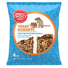 Grreat Choice® Hamster & Gerbil Treat Nuggets