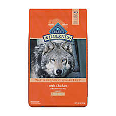 BLUE Wilderness® Large Breed Adult Dog Food - Grain Free, Natural, Chicken