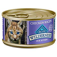 BLUE Wilderness® Kitten Food - Grain Free, Chicken