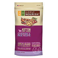 Simply Nourish™ Kitten Food - Natural, Chicken & Rice