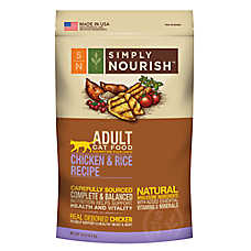 Simply Nourish™ Adult Cat Food - Natural, Chicken & Rice