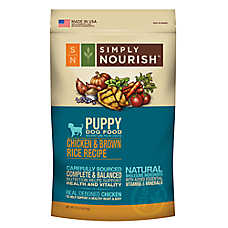 Simply Nourish™ Puppy Food - Natural, Chicken & Brown Rice