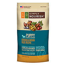 Simply Nourish® Puppy Food - Natural, Chicken & Brown Rice