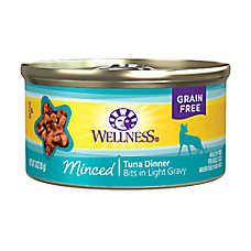 Wellness® Minced Cat Food - Natural, Grain Free