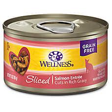 Wellness® Sliced Cat Food - Natural, Grain Free