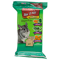 Kaytee Box 'O Hay Variety Pack Small Animal Treat