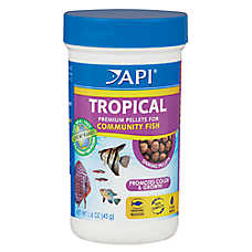 API Tropical Premium Pellets Community Fish Food