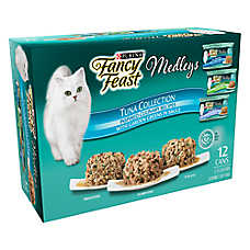Fancy Feast® Medleys Adult Cat Food - Variety Pack, 12 ct