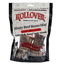 Rollover Meaty Beef Bone Mini Dog Treat