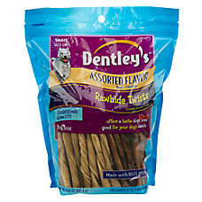 Dentley's Rawhide Twists Dog Treats