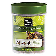 All Living Things® Aquatic Turtle Floating Sticks