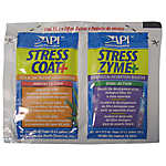 API® Stress Coat & Stress Zym Aquarium Water Conditioner Foil Pack
