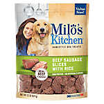 Milo's Kitchen Home-Style Sausage Slices Dog Treats