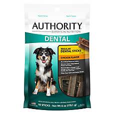 Authority® Dental Dog Treats