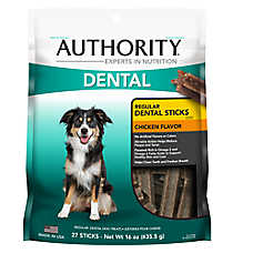 Authority® Dental Stick Dog Treat