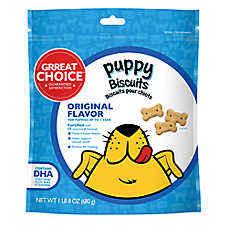 Grreat Choice® Puppy Biscuits Dog Treat