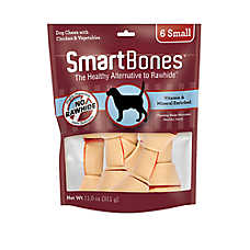 SmartBones® Small Chews Dog Treat - Chicken