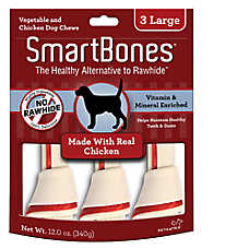 SmartBones® Large Chews Dog Treat - Chicken