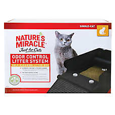 NATURE'S MIRACLE™ Odor Control Automatic Cat Litter Box