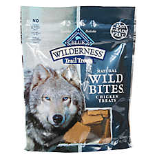 BLUE Wilderness® Trail Treats Grain Free Wild Bites Dog Treat