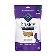BLUE Basics® Biscuits Dog Treat - Natural, Limited Ingredient