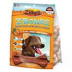 Zuke's® Z-Bones Large Dental Dog Chews - Grain Free, Carrot