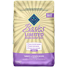 BLUE Basics® Limited Ingredient Puppy Food - Turkey & Potato
