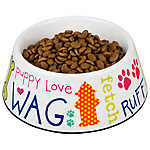 Top Paw® Fun With Words Dog Bowl