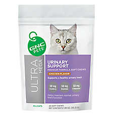 GNC Pets Urinary Tract Support Soft Cat Chews