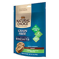 NUTRO® NATURAL CHOICE® Grain Free Adult Dog Biscuits